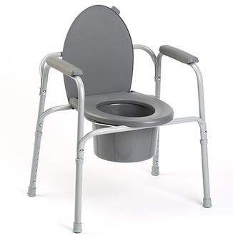 Deluxe All in One Commode