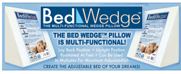 bed wedge cushions