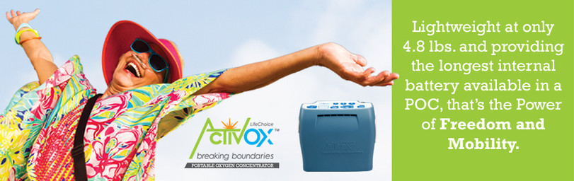 Activox LifeChoice Portable Oxygen