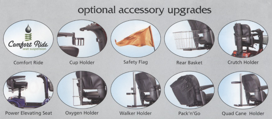 Golden Optional Accessory Upgrades